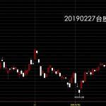 20190227台灣上市指數日K線圖股票入門分析教學鵝爸